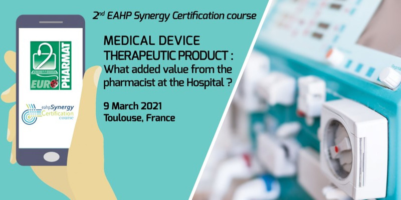 SYNERGY CERTIFICATION COURSE DISPOSITIFS MEDICAUX - 9 MARS 2...